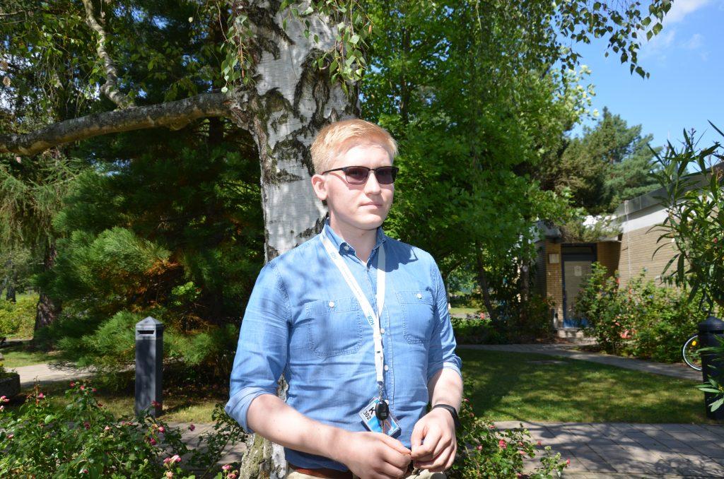 Egor Bersenev, MIPT,Sommerstudent 2017 am HZB