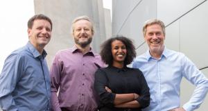 Das Team der Beratungsstelle für bauwerkintegrierte Photovoltaik (BAIP) am HZB ©HZB/K. Bilo